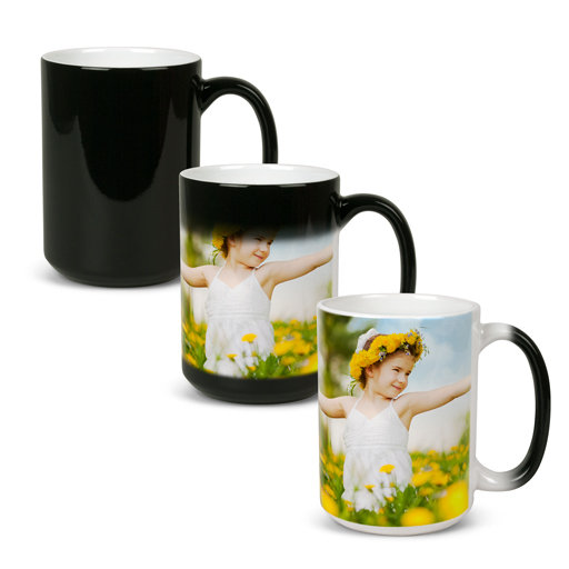 Color Changing Mugs Custom Photo