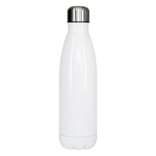 16 oz Cola-Shape Stainless Steel Water Bottle