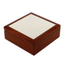 Jewelry Box w/Photo Tile Lid