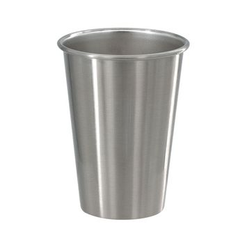 16 oz Stainless Steel Pint Glasses