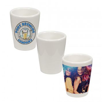 1.5 oz Ceramic Shot Glasses