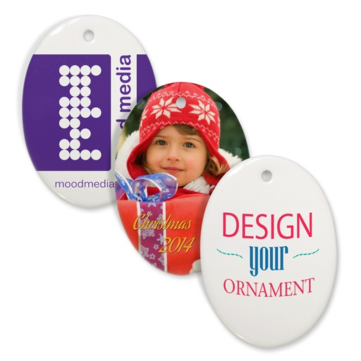 """3"""" Oval Ornament"""